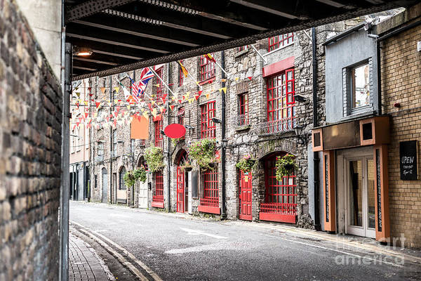 Wall Art - Photograph - One Beautiful  Street  In Dublin by Massimofusaro