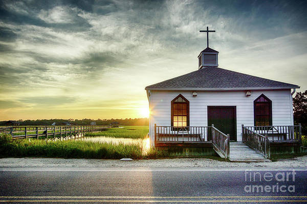 Coastal Marshes Photograph - One Eye Closed by DiFigiano Photography