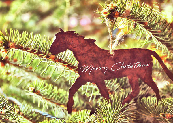 Photograph - One Horse Open Sleigh Quote by Jamart Photography
