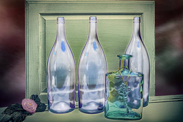 Photograph - One Key Bottle by Erich Grant
