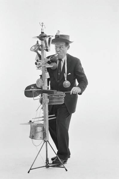 Photograph - One Man Band by Alfred Gescheidt