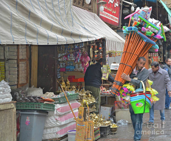 Wall Art - Photograph - One-man Sweeping Business by Andrea Simon