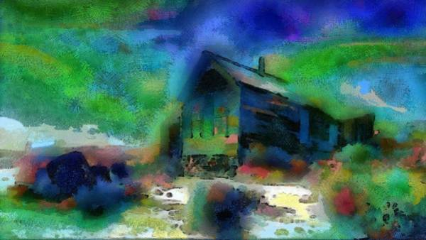 Digital Art - One Old Home by Mario Carini