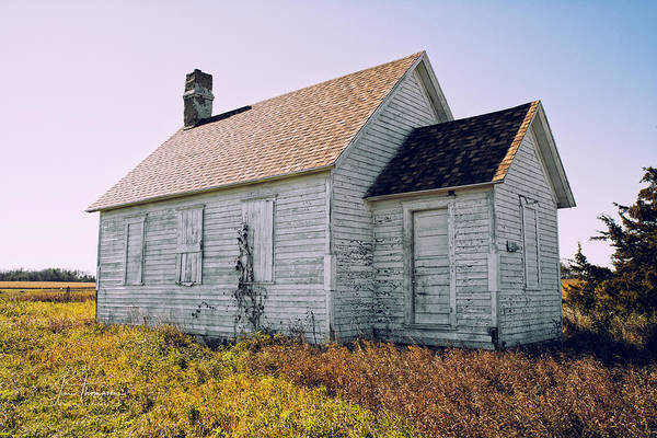 Photograph - One Room Schoolhouse 1  by Jim Thompson