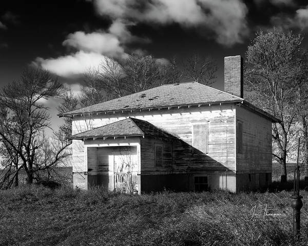 Photograph - One Room Schoolhouse 2 by Jim Thompson