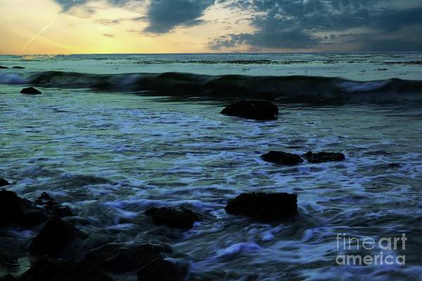 Wall Art - Photograph - One Wave Curling Over by Jeff Swan