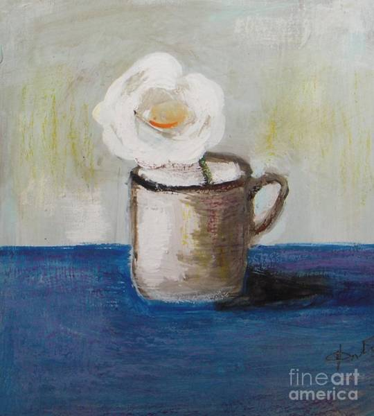 Wall Art - Painting - Only One by Vesna Antic