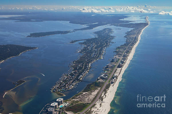 Photograph - Ono Island-5326 by Gulf Coast Aerials -