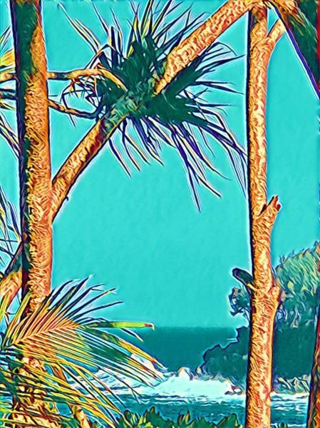 Photograph - Onomea Bay In Turquoise Aloha  by Joalene Young