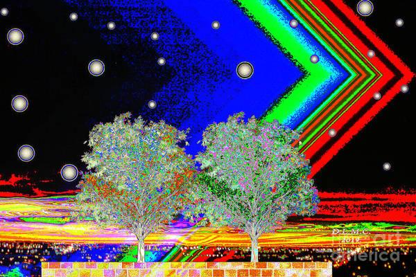 Digital Art - Ooh Aah by Donna L Munro
