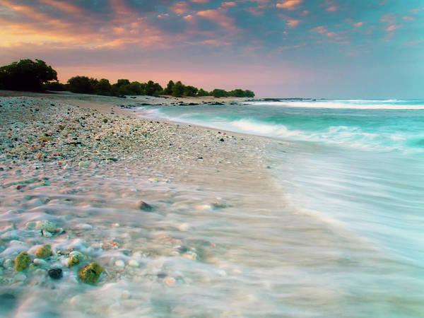 Wall Art - Photograph - O'oma Beach Sunrise by Christopher Johnson