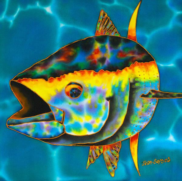 Wall Art - Painting - Opal Tuna by Daniel Jean-Baptiste