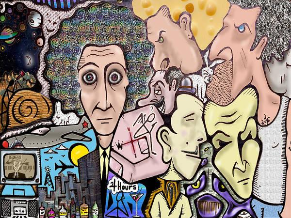 Subjective Digital Art - Open 24 Hours by SteedSpot