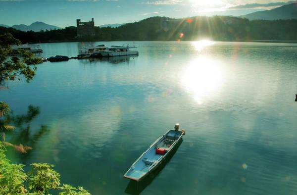 Taiwan Photograph - Open Boat Welcome Light by Taiwan Nans0410
