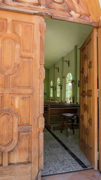 Photograph - Open Church Door by Jean Noren