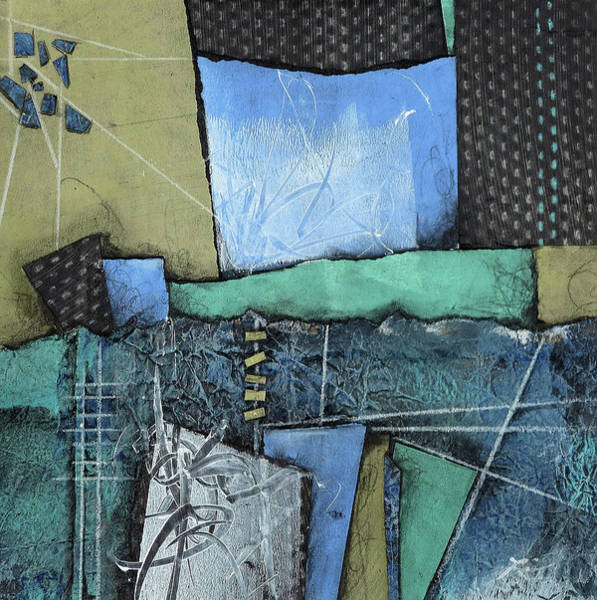 Wall Art - Mixed Media - Open Roads by Laura Lein-Svencner