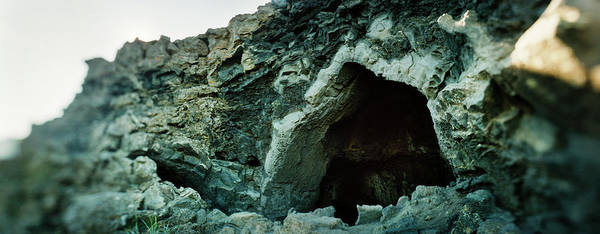 Wall Art - Photograph - Opening To A Lava Cave, Grjotagja Rift by Panoramic Images