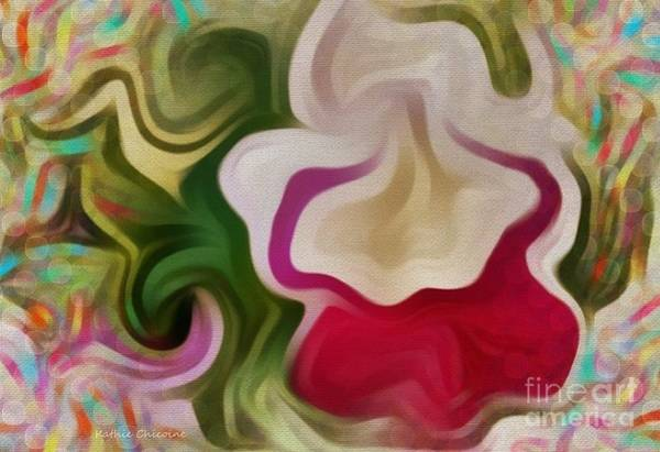 Digital Art - Opening Your Heart by Kathie Chicoine
