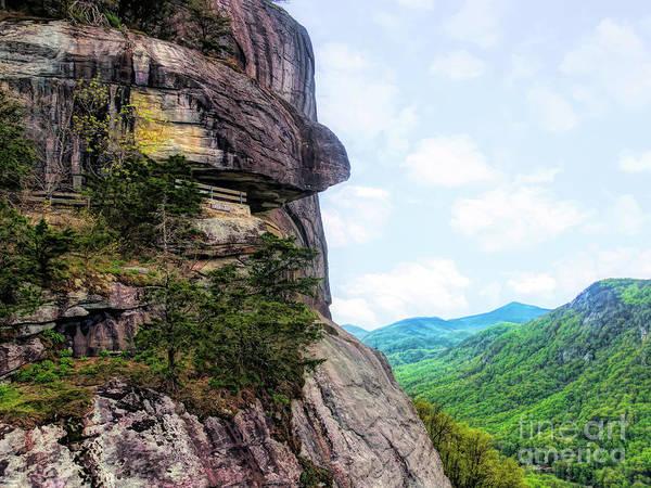 Digital Art - Opera Box At Chimney Rock by Amy Dundon