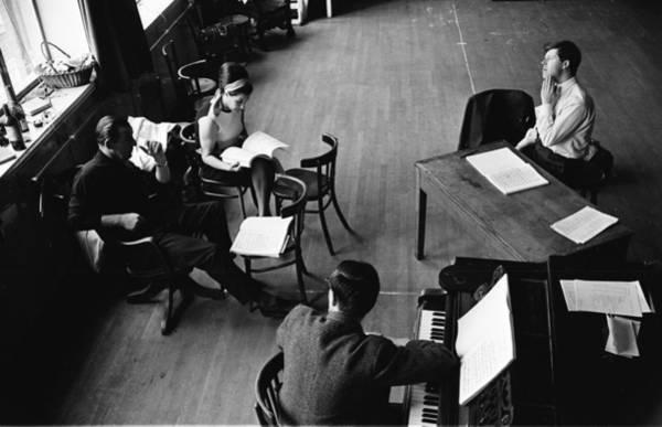 Furniture Photograph - Opera Cast by P. Felix