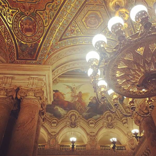 Wall Art - Photograph - Opera Garnier, Hall by Alexandra Lawson
