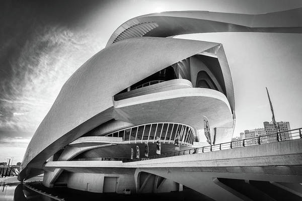 Photograph - Opera House, Valencia. by Gary Gillette