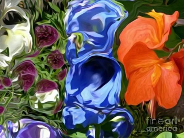 Digital Art - Opposites Attract by Kathie Chicoine
