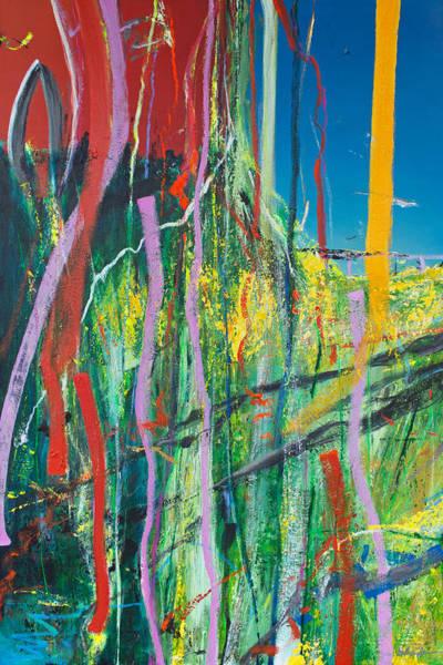 Wall Art - Painting - Opt.03.19 'to Be Loved' by Derek Kaplan