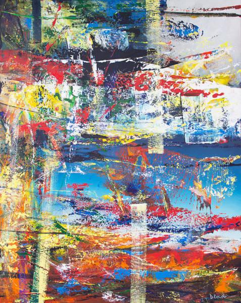 Wall Art - Painting - Opt.05.19  A Strange Magic' by Derek Kaplan