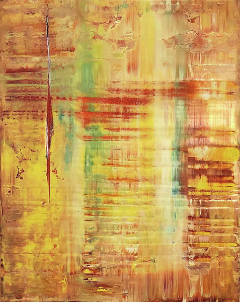 Wall Art - Painting - Opt.17.18 'waiting For You' by Derek Kaplan