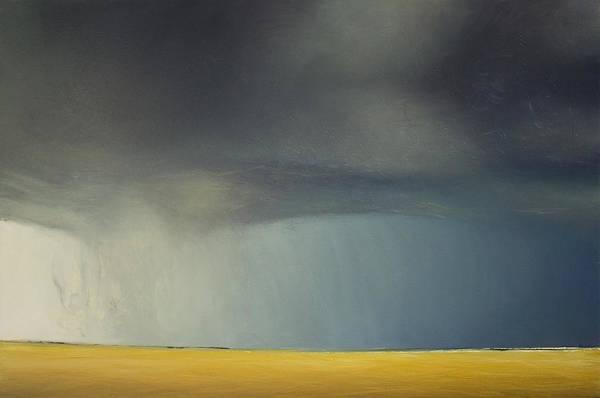 Wall Art - Painting - Opt.36.18  'storm' by Derek Kaplan
