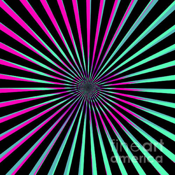 Wall Art - Photograph - Optical Illusion Bright by Christiana Mustion