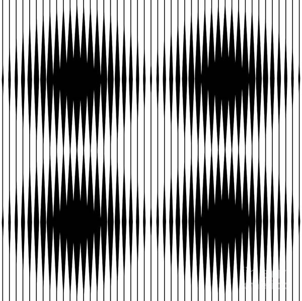 Wall Art - Digital Art - Optical Illusion by Traffico