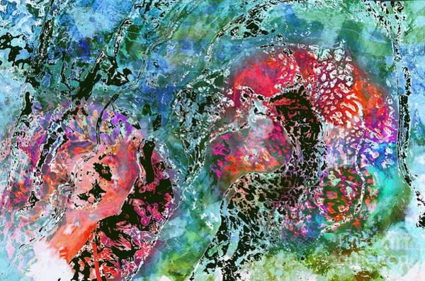 Mixed Media - Optical Illusions by Jolanta Anna Karolska