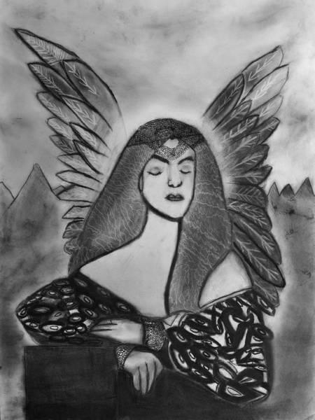 Drawing - Oracle by Nadija Armusik