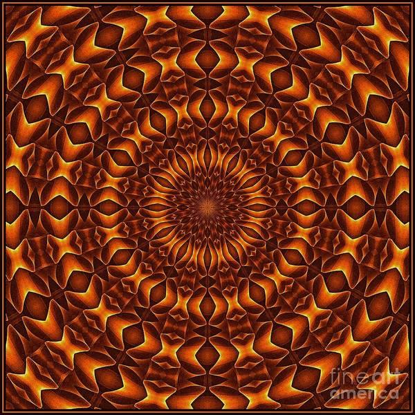 Digital Art - Oragami Vortex K12-1 Tile by Doug Morgan