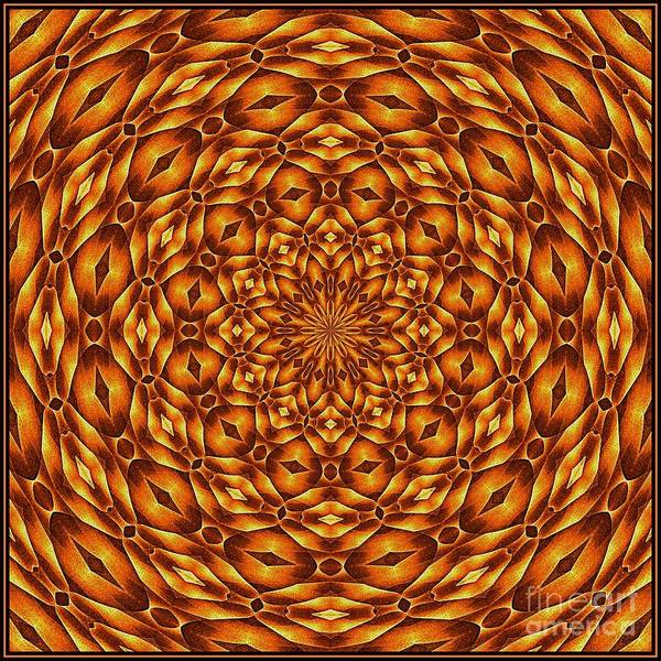 Digital Art - Oragami Vortex K12-7 Tile by Doug Morgan