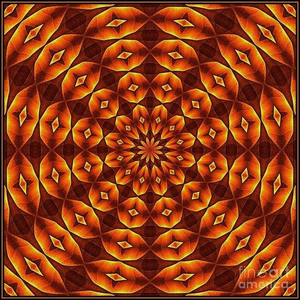 Digital Art - Oragami Vortex K12-8 Tile by Doug Morgan