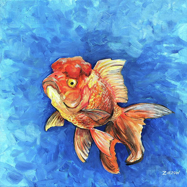 Oranda Goldfish Paintings | Fine Art America
