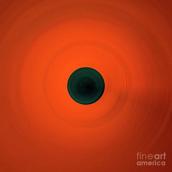 Photograph - Orange Abstract by Doug Sturgess