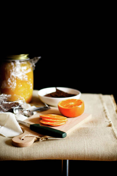 Jar Photograph - Orange And Bowls by 200