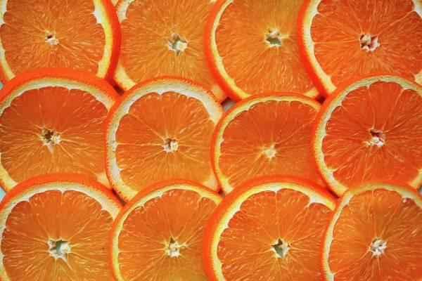 Slice Photograph - Orange Fruit Slices by D. Sharon Pruitt Pink Sherbet Photography