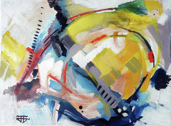 Painting - Orange Juice Mix by John Jr Gholson