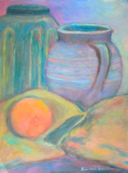 Painting - Orange by Kendall Kessler