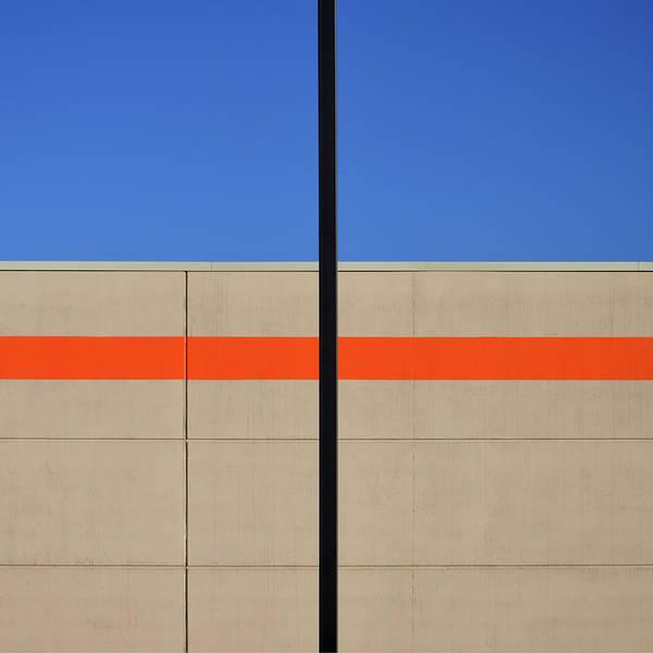 Photograph - Orange Line by Stuart Allen