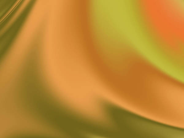 Wall Art - Digital Art - Orange Olive Silk by Rich Leighton