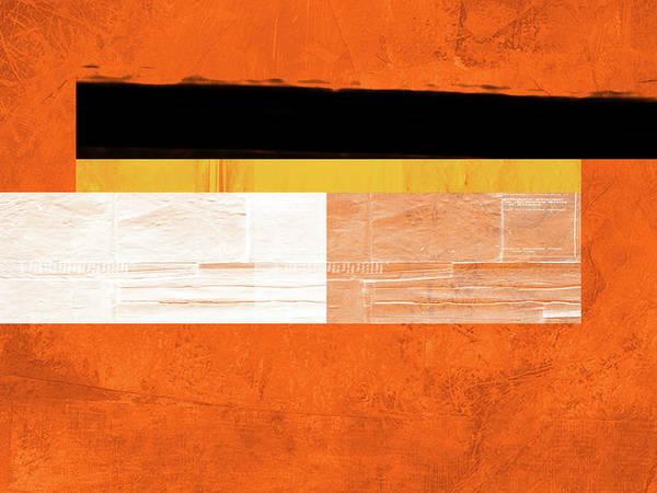 Wall Art - Painting - Orange Paper 4 by Naxart Studio