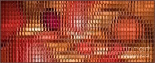 Digital Art - Orange Samba Mosaic by Doug Morgan