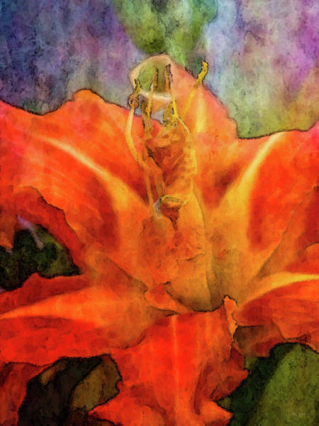 Photograph - Orange Star 2949 Idp_2 by Steven Ward