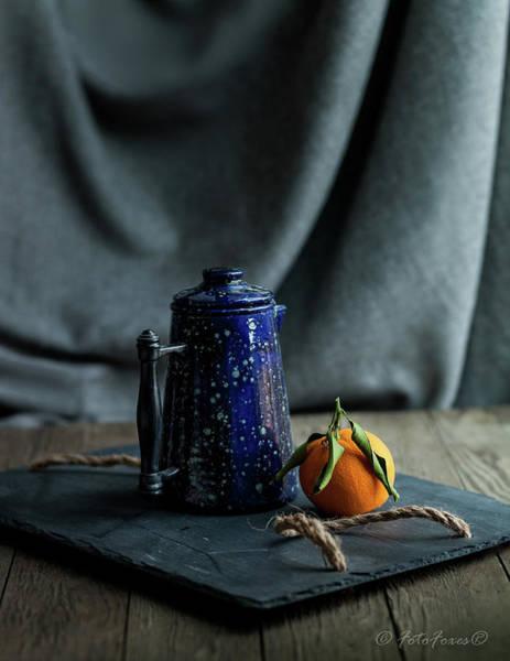 Photograph - Orange Tea by Alexander Fedin